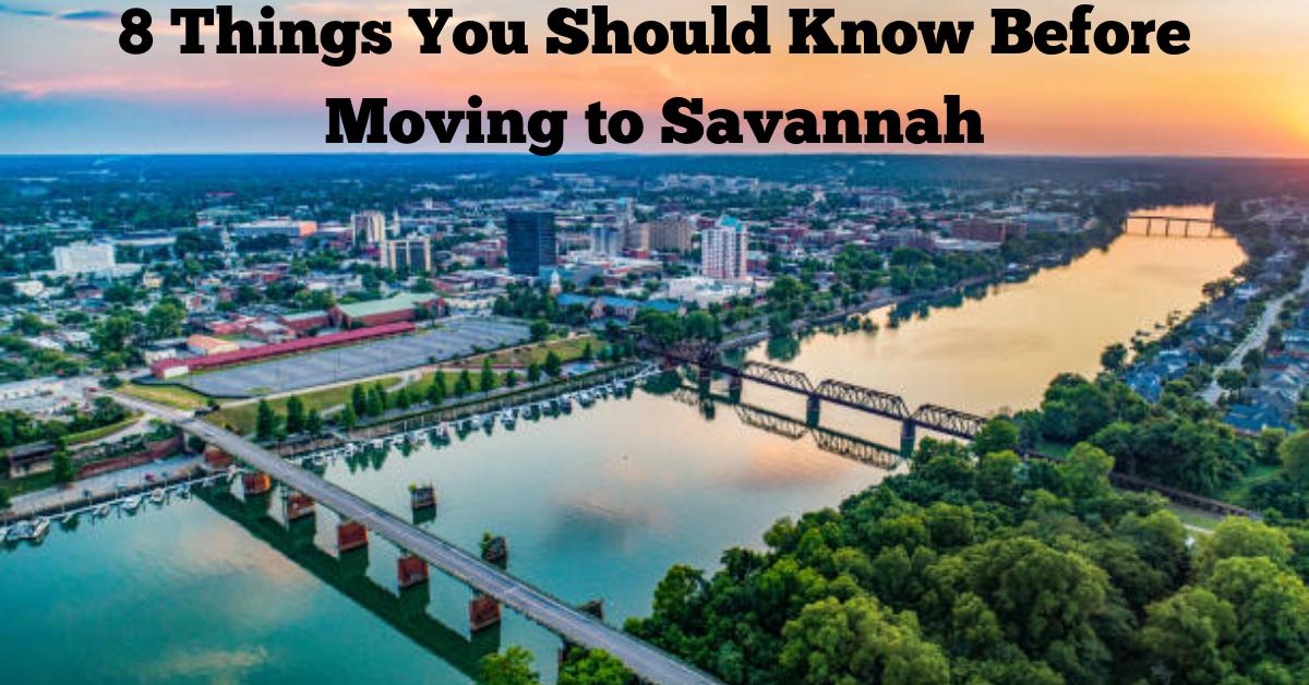 Moving to Savannah